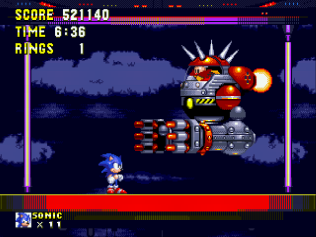 Sonic the Hedgehog 3 - awww crap - User Screenshot